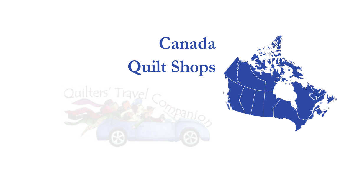 quilt shops of canada